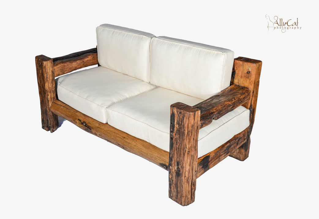 Dhow Wood Sofa Couch