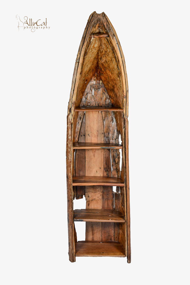 Fisherman Dugout Boat Shelving Unit