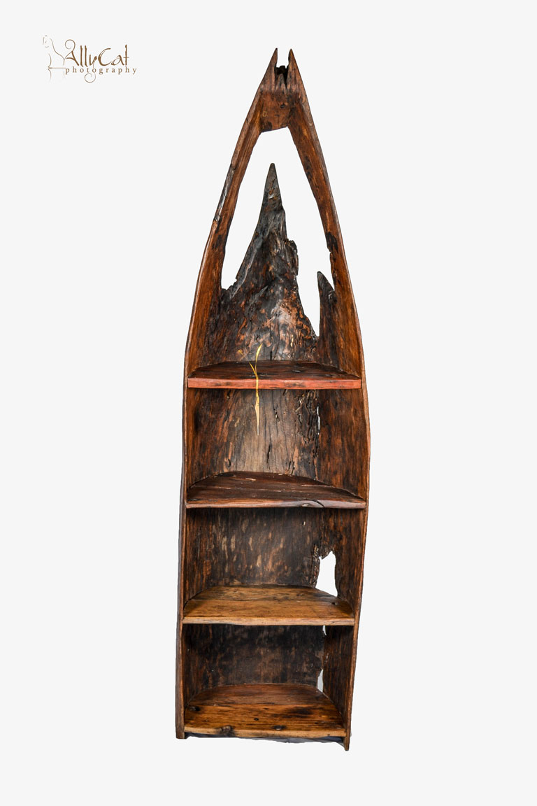 Dhow Wooden Boat Shelves