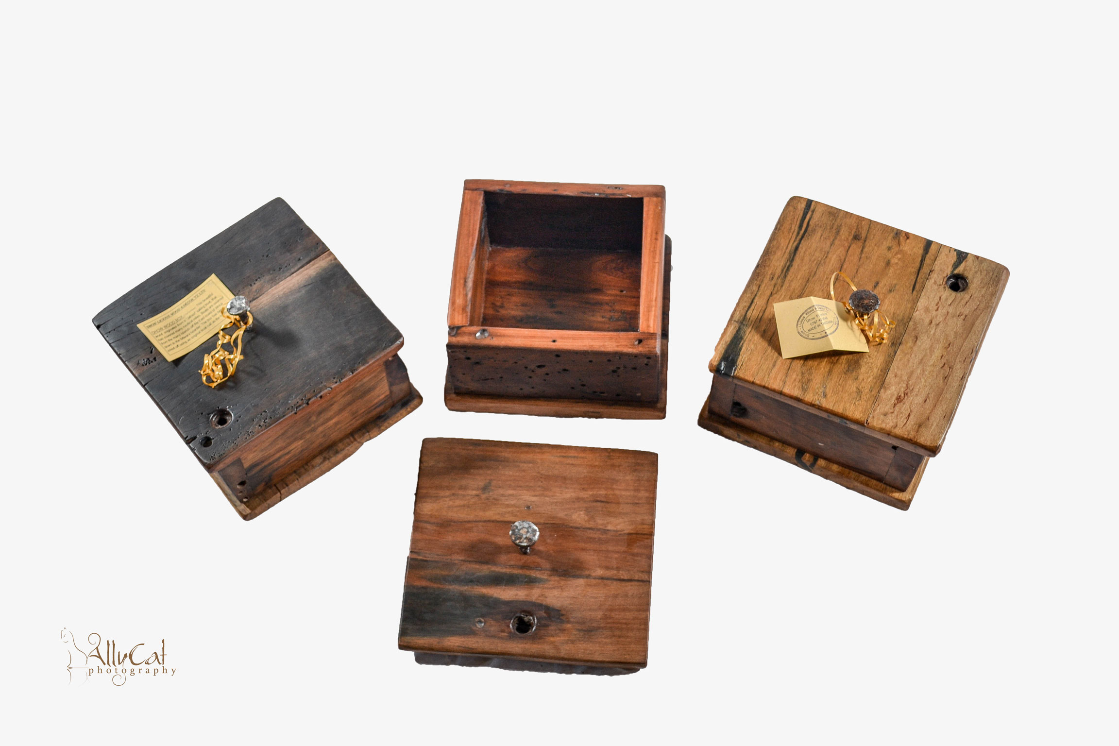 Dhow Wood Box with Lid