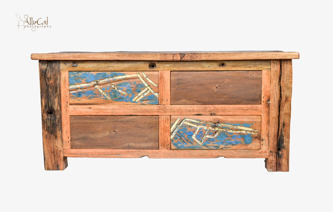 4 Drawer Coffee Table