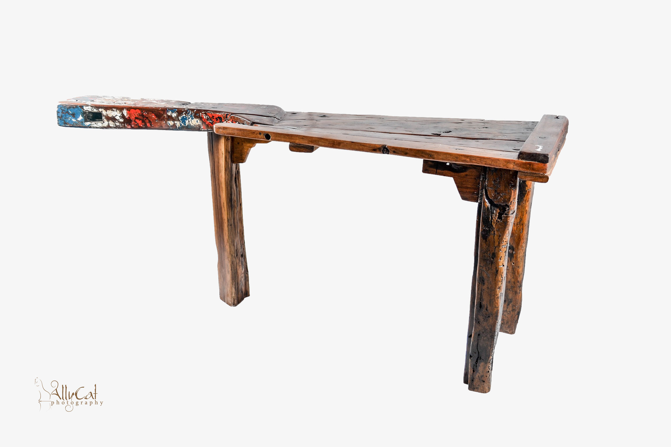Boat Rudder Coffee Table